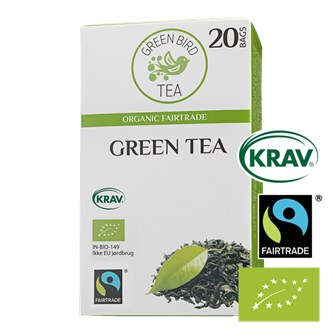 Green Bird Green Tea Økologisk Fairtrade Krav