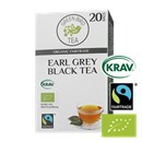 Green Bird Te  Earl Grey Sort Te Økologisk Fairtrade Krav