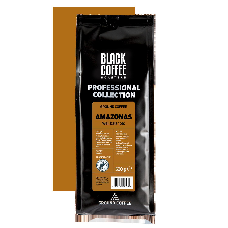 Billede af Black Coffee Roasters PRO Amazonas 500g