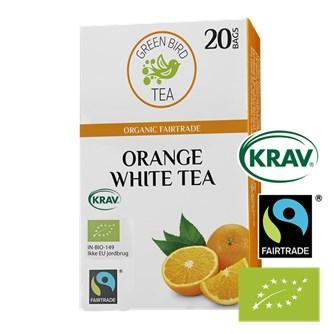 Green Bird Tea Appelsin Hvid Te Økologisk Fairtrade Krav