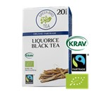 Green Bird Liquorice Black Tea Økologisk Fairtrade Krav