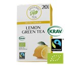 Green Bird Te Lemon Grøn Te Økologisk Fairtrade Krav