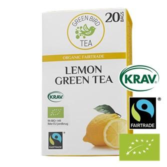 Green Bird Lemon Green Tea Økologisk Fairtrade Krav