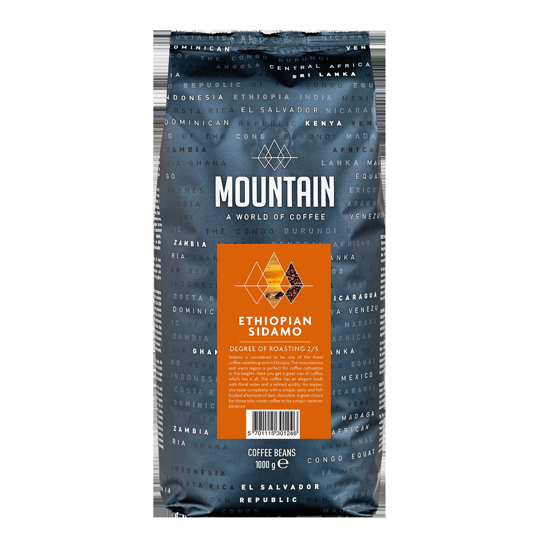 Billede af mountain Etiopisk Sidamo Mørk kaffe
