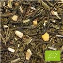 Økologisk Grøn Ingefær citron Te