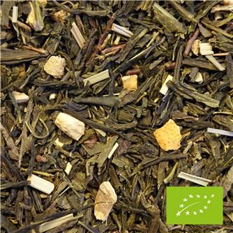 Økologisk Grøn Te Med Ingefær & Citron