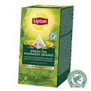 Lipton Pyramide Green Mandarine Orange
