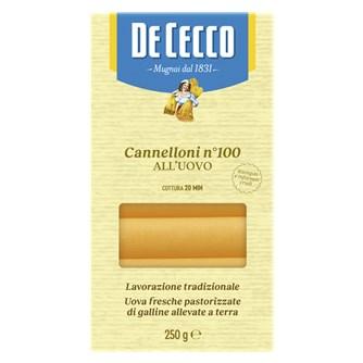 De Cecco Cannelloni med æg