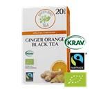 Green Bird Ginger Orange Black Tea Økologisk Fairtrade Krav