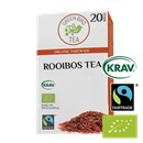 Green Bird Te Rooibos Økologisk Fairtrade Krav
