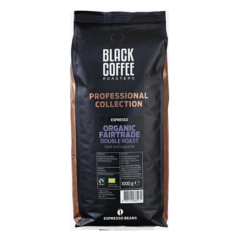 billede af Black Coffee Roasters Double Roast Organic Fairtrade